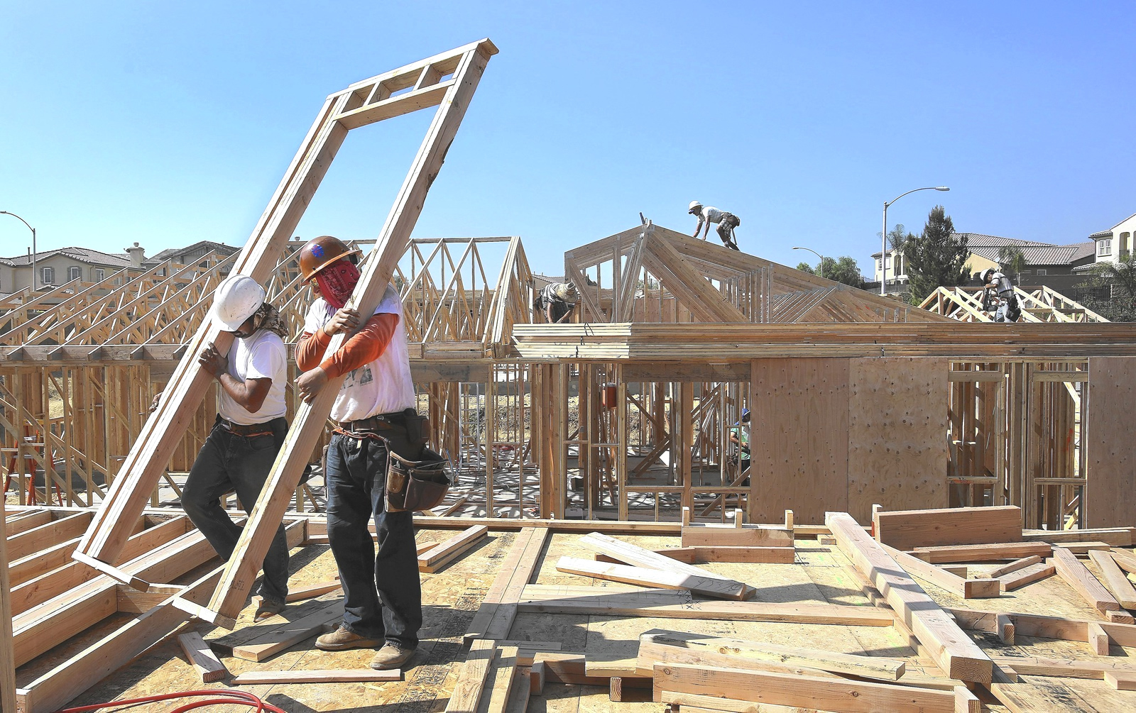Building activity steps up in the oc landinsite landinsite for New house construction steps